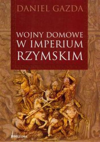 Okładka książki Wojny domowe w Imperium Rzymskim