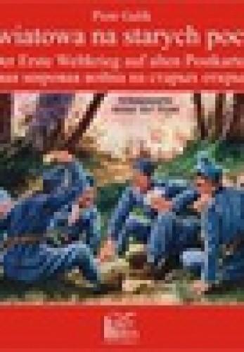 Okładka książki I wojna na starych pocztówkach