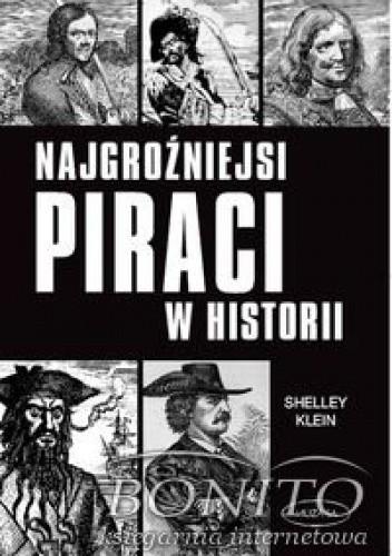 Okładka książki Najgroźniejsi piraci w historii