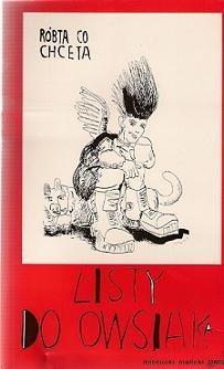 Okładka książki Listy do Owsiaka