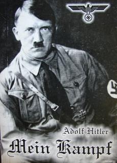Okładka książki Mein Kampf. Moja walka