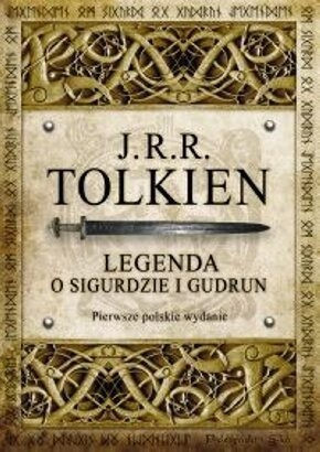 Okładka książki Legenda o Sigurdzie i Gudrun