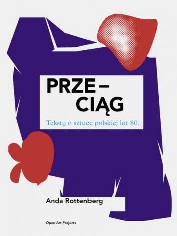 Okładka książki Przeciąg: Teksty o sztuce polskiej lat 80