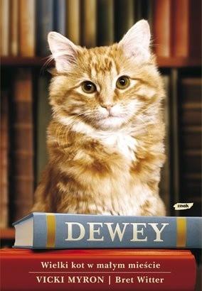 Okładka książki Dewey. Wielki kot w małym mieście