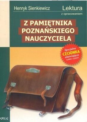 Okładka książki Z pamiętnika poznańskiego nauczyciela