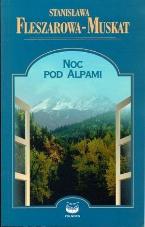 Okładka książki Noc pod Alpami