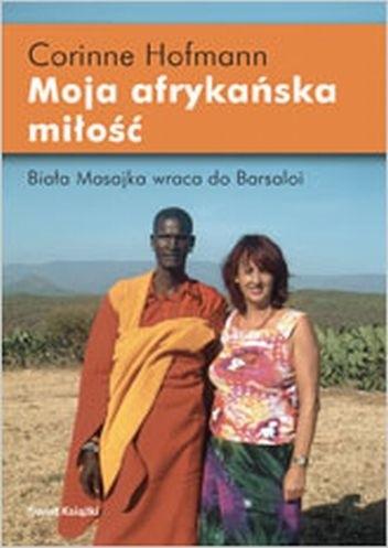 Okładka książki Moja afrykańska miłość