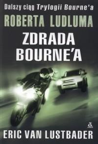 Okładka książki Zdrada Bourne'a