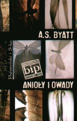 Okładka książki Anioły i owady