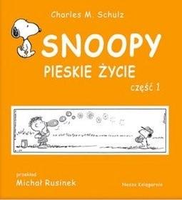 Okładka książki Snoopy: Pieskie życie - część 1