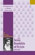 Okładka książki Autoportret z listów: 1933-1942
