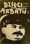 Okładka książki Dzieci Arbatu t. I