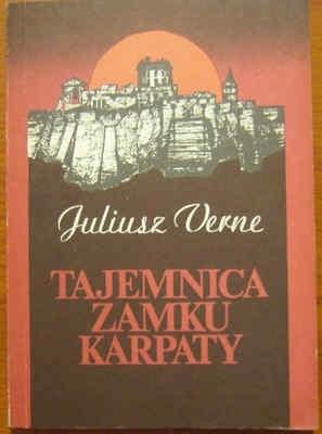 Okładka książki Tajemnica zamku Karpaty