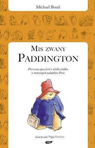Okładka książki Miś zwany Paddington