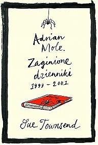 Okładka książki Adrian Mole. Zaginione dzienniki 1999-2001