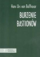 Okładka książki Burzenie bastionów