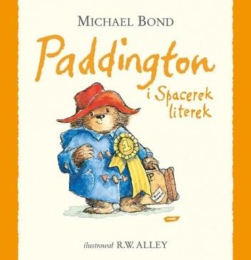 Okładka książki Paddington i Spacerek literek
