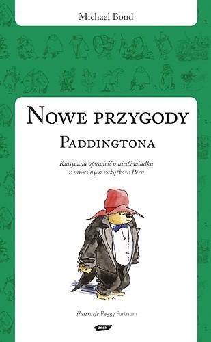 Okładka książki Nowe przygody Paddingtona