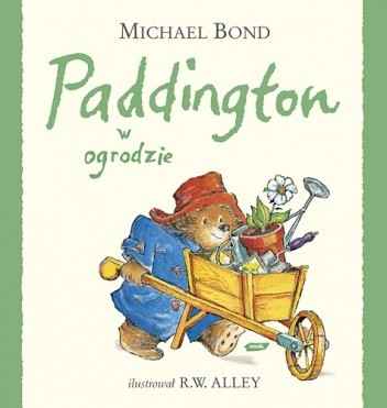 Okładka książki Paddington w ogrodzie