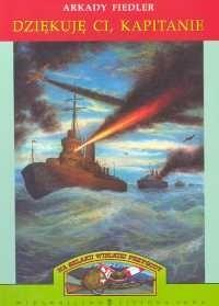 Okładka książki Dziękuję ci, kapitanie