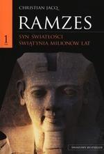 Okładka książki Ramzes t. I Syn światłości. Świątynia milionów lat