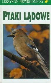 Okładka książki Leksykon przyrodniczy. Ptaki lądowe