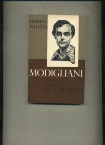 Okładka książki Modigliani- część II Książę Montparnasse'u