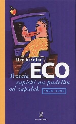 Okładka książki Trzecie zapiski na pudełku od zapałek 1994-96