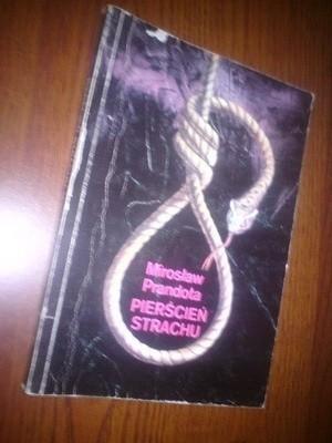 Okładka książki Pierścień strachu