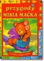 Okładka książki Przygody misia Maćka