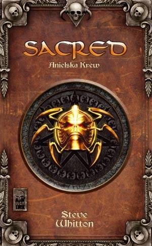 Okładka książki Sacred. Anielska Krew. Kroniki Ancarii 1