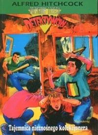 Okładka książki Tajemnica nieznośnego kolekcjonera