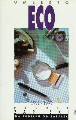 Okładka książki Drugie zapiski na pudełku od zapałek 1991-1993