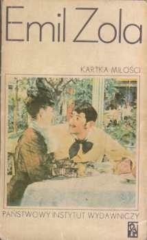 Okładka książki Kartka miłości