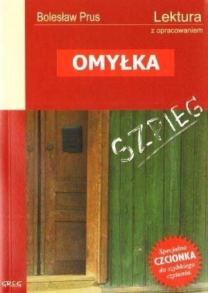Okładka książki Omyłka