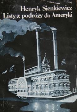Okładka książki Listy z podróży do Ameryki