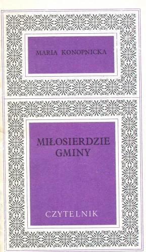 Okładka książki Miłosierdzie gminy