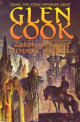 Okładka książki Zgromadziła się ciemność wszelaka