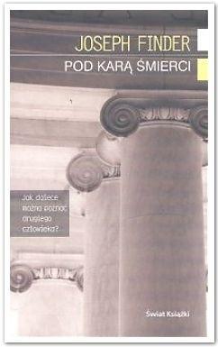 Okładka książki Pod karą śmierci