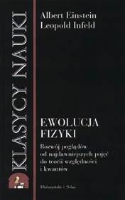 Okładka książki Ewolucja fizyki