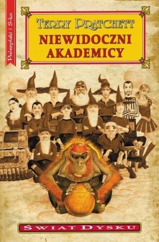 Okładka książki Niewidoczni Akademicy