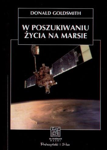 Okładka książki W poszukiwaniu życia na Marsie