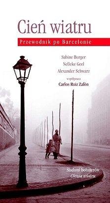 Okładka książki Cień wiatru. Przewodnik po Barcelonie