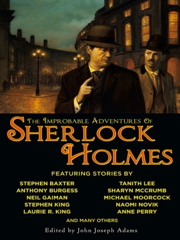 Okładka książki The Improbable Adventures of Sherlock Holmes