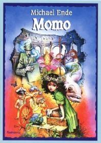 Okładka książki Momo czyli osobliwa historia o złodziejach czasu i o dziecku, które zwróciło ludziom skradziony im czas