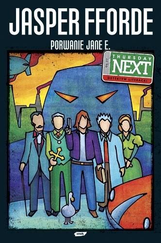 Okładka książki Porwanie Jane E.