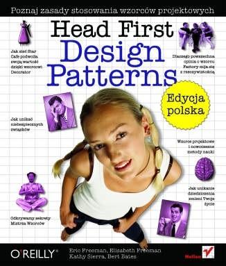 Okładka książki Head First Design Patterns. Edycja polska