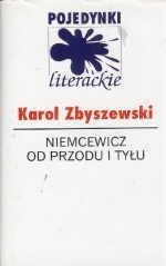 Okładka książki Niemcewicz od przodu i tyłu