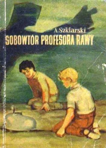 Okładka książki Sobowtór profesora Rawy