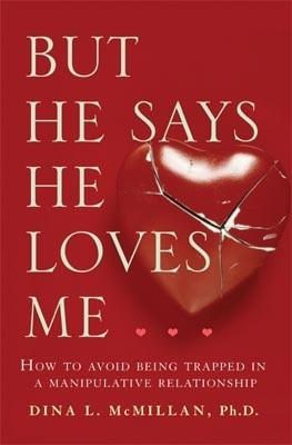 Okładka książki But he says he loves me